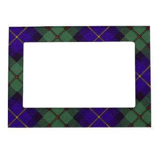 Macleod del tartán del escocés de la tela escocesa marcos magneticos de fotos