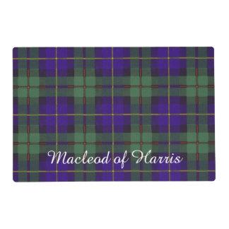 Macleod del tartán del escocés de la tela escocesa salvamanteles