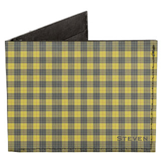 MacLeod Dress Plaid Custom Wallet