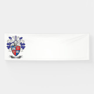 MacLeod Family Crest Coat of Arms Banner