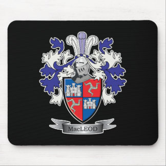 MacLeod Family Crest Coat of Arms Mouse Pad