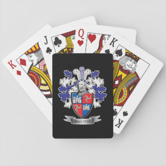 MacLeod Family Crest Coat of Arms Playing Cards