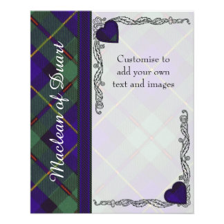 Macleod of Harris clan Plaid Scottish tartan Flyer