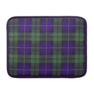 Macleod of Harris clan Plaid Scottish tartan MacBook Sleeve