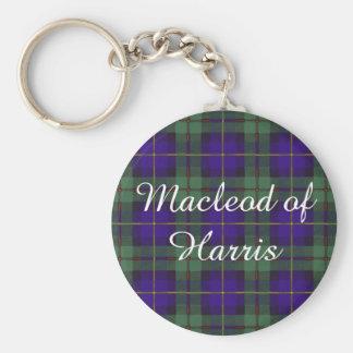Macleod of Harris clan Plaid Scottish tartan Key Chain