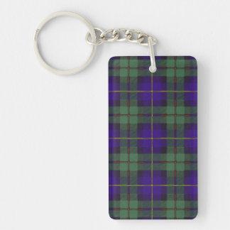 Macleod of Harris clan Plaid Scottish tartan Acrylic Key Chains