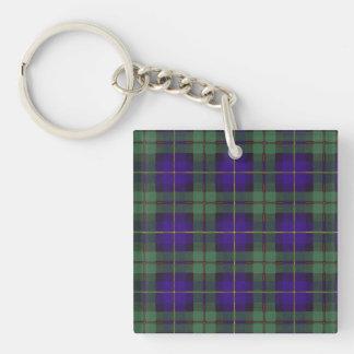 Macleod of Harris clan Plaid Scottish tartan Square Acrylic Keychains