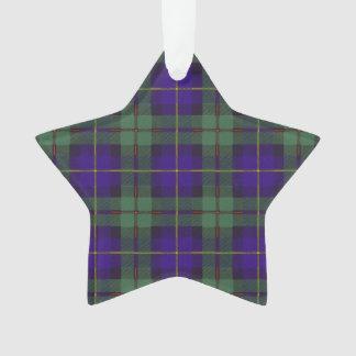 Macleod of Harris clan Plaid Scottish tartan Ornament