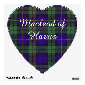 Macleod of Harris clan Plaid Scottish tartan Wall Decal