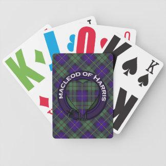 Macleod of Harris Scottish Tartan Bicycle Playing Cards