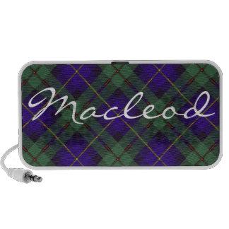 Macleod of Harris Scottish Tartan iPhone Speakers