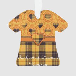 Macleod of Lewis & Ramsay Plaid Scottish tartan