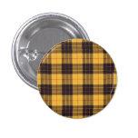 Macleod of Lewis & Ramsay Plaid Scottish tartan 1 Inch Round Button