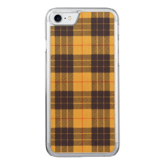 Macleod of Lewis & Ramsay Plaid Scottish tartan Carved iPhone 8/7 Case