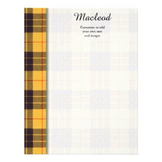 Macleod of Lewis & Ramsay Plaid Scottish tartan Flyer