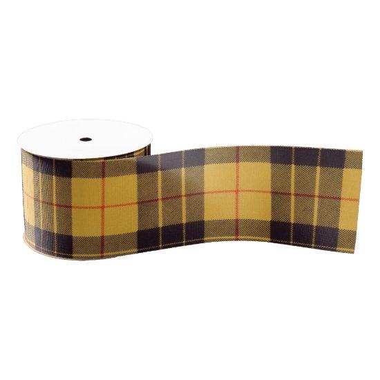 Macleod of Lewis & Ramsay Plaid Scottish tartan Grosgrain Ribbon