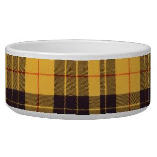 Macleod of Lewis & Ramsay Plaid Scottish tartan Dog Water Bowl
