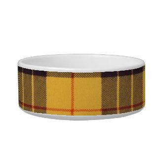 Macleod of Lewis & Ramsay Plaid Scottish tartan Cat Food Bowl