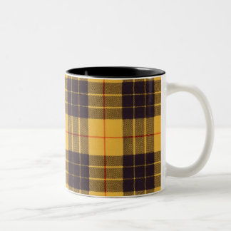 Macleod of Lewis & Ramsay Plaid Scottish tartan Two-Tone Coffee Mug