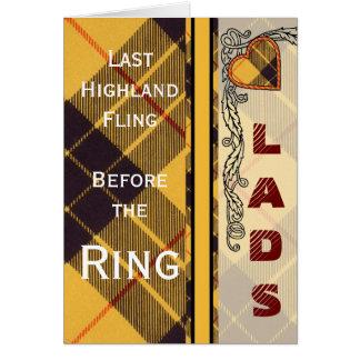 Macleod of Lewis & Ramsay Scottish Tartan Card