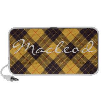 Macleod of Lewis & Ramsay Scottish Tartan Laptop Speaker