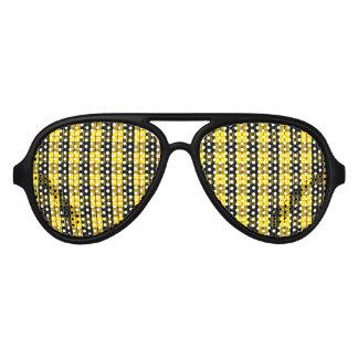 MacLeod Scottish Clan Tartan Aviator Sunglasses