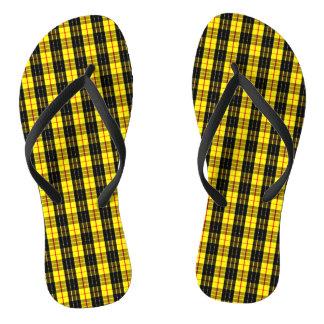 MacLeod Scottish Clan Tartan Flip Flops