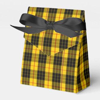 Macleod Scottish Clan Tartan Party Favor Boxes