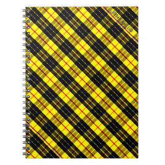 MacLeod Scottish Clan Tartan Notebook