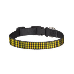 MacLeod Scottish Clan Tartan Pet Collar