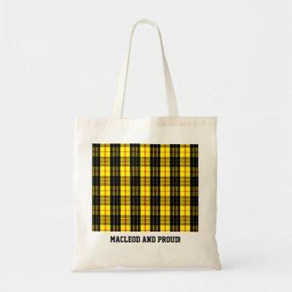 MacLeod Scottish Clan Tartan Tote Bag
