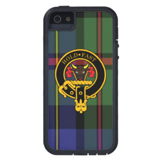 Macleod Scottish Crest and Tartan iPhone 5/5S case