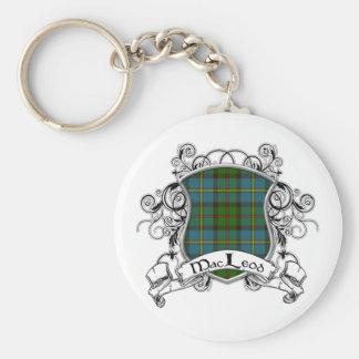 MacLeod Tartan Shield Keychains