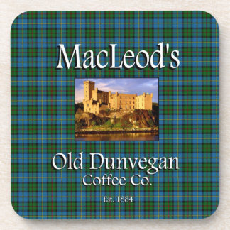 MacLeod's Old Dunvegan Coffee Co. Coaster Set