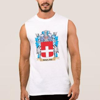 Maclise Coat of Arms - Family Crest Sleeveless Shirt