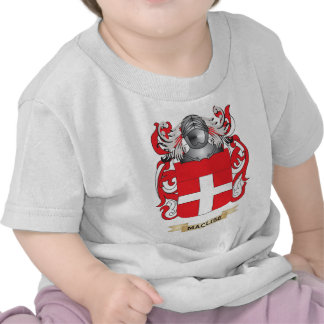 MacLise Coat of Arms Family Crest T Shirts