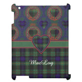 MacLoy clan Plaid Scottish kilt tartan iPad Cases