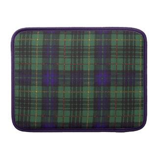 MacLoy clan Plaid Scottish kilt tartan Sleeve For MacBook Air