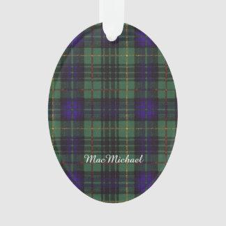 MacMichael clan Plaid Scottish kilt tartan Ornament