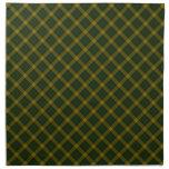 MacMillan Clan Tartan Scottish Designed Print Cloth Napkin