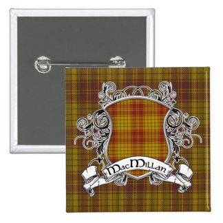 MacMillan Tartan Shield Button