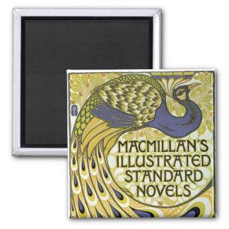 MacMillan's Peacock Edition 2 Inch Square Magnet