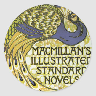 MacMillan's Peacock Edition Classic Round Sticker