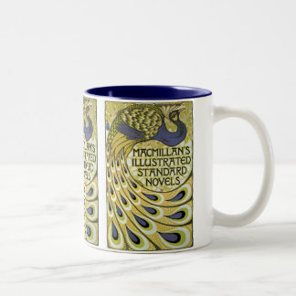 MacMillan's Peacock Edition Two-Tone Coffee Mug