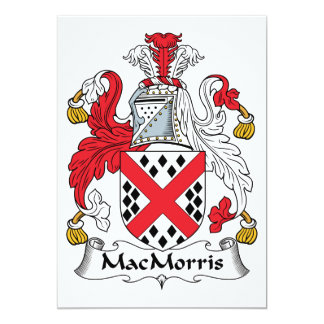 MacMorris Family Crest Announcement