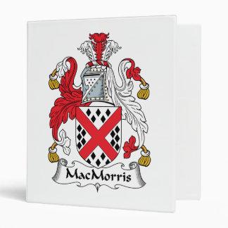 MacMorris Family Crest Binders