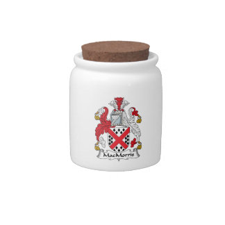 MacMorris Family Crest Candy Jar