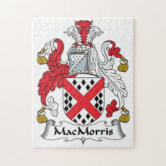 MacMorris Family Crest Jigsaw Puzzles