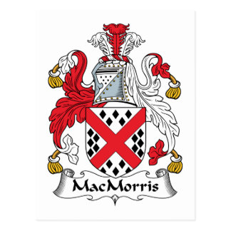 MacMorris Family Crest Post Cards