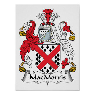 MacMorris Family Crest Posters